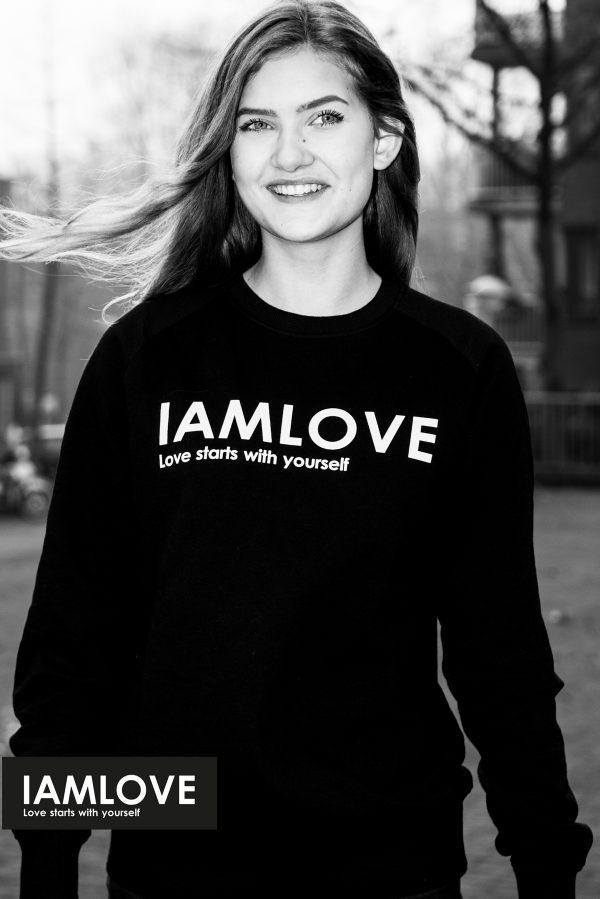 IAMLOVE unisex organic sweater