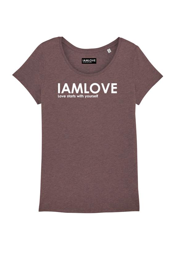 women classic IAMLOVE t-shirt