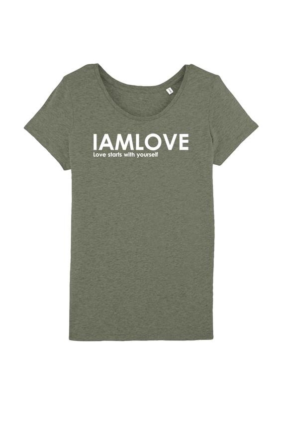 Women's classic IAMLOVE t-shirt
