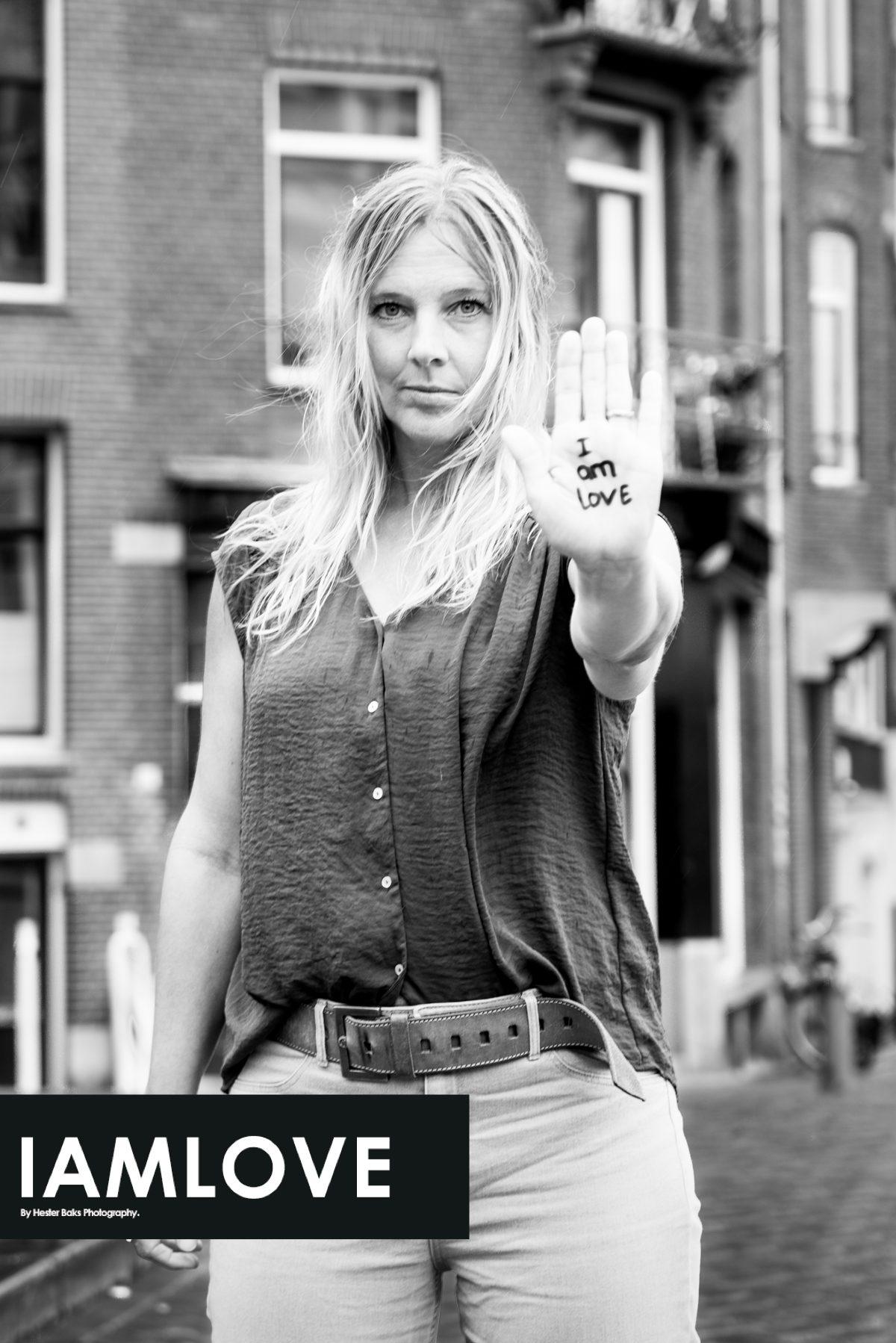 Sandra Konst portrayed by Hester Baks for I AM LOVE story photography