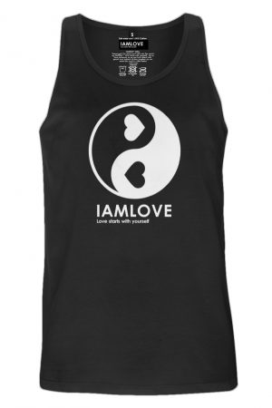 Yin Yang shabamm vest for men by IAMLOVE ethical fashion