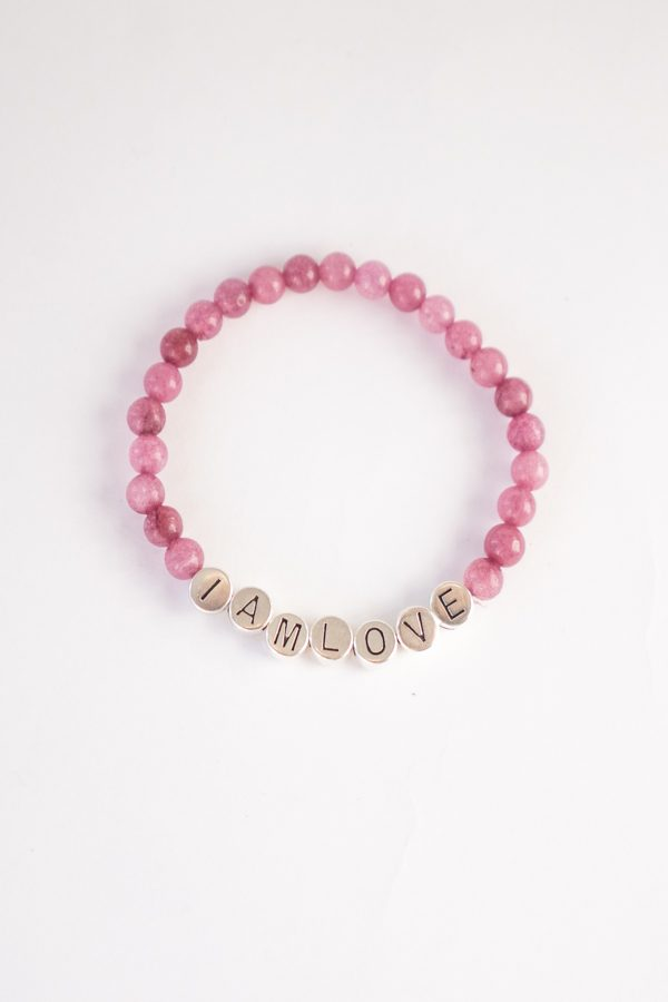 inner wisdom bracelet natural stone armband van IAMLOVE