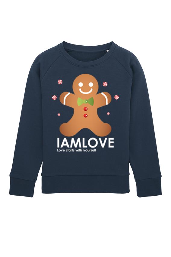 Kersttrui Kids.Kersttrui Kids Christmas Cookie Sweater Iamlove