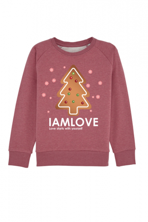 IAMLOVE holiday Cookie sweater for kids