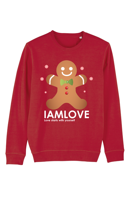 kersttrui cookie sweater by iamlove red