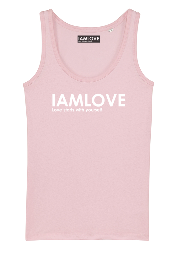 Classic pink tanktop by IAMLOVE